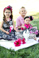 Blackburn Cousins {spring mini session} 4/1/12