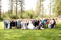 Bride & Groom's Families Together