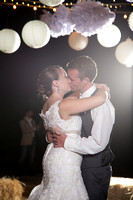 Reception: Cake, First Dance, Bouquet/Garter Tosses
